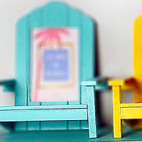 Рамка для фото в форме стула, голубая (IMP_50_1_BLUE)