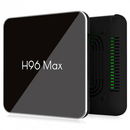ТВ-приставка H96 Max X2 (4/64 Gb) 4-ядерная на Android 9.0, фото 2