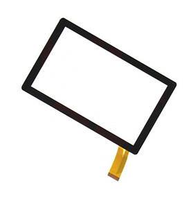 """Cенсор (Тачскрин) для планшета 7"""" GoClever Terra 70L (173*105) 30pin (Черный) Оригинал Китай"""