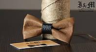 Кожаная галстук-бабочка I&M (010832)