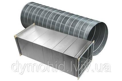 Вентиляційні труби з нержавіючої сталі.