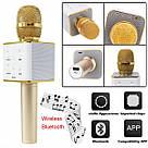 Беспроводной Караоке Микрофон Bluetooth Q7 в ЧЕХЛЕ TyT, фото 5