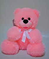 Мягкая игрушка . Розовый сидячий Медведь 31 х 30