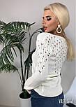 Женский вязаный джемпер (в расцветках), фото 2