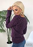 Женский вязаный джемпер (в расцветках), фото 8