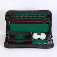 Набор для гольфа Z.F. Golf A-9921B-2. Подарочный набор для гольфа. офисный гольф.