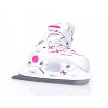Детские раздвижные роликовые/ледовые коньки Tempish NEO-X LADY DUO 2в1, фото 3