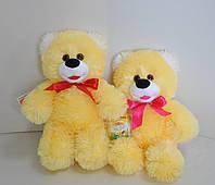 Мягкая игрушка . Медведь 39 х 30  желтый, фото 1
