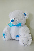 Мягкая игрушка  белый мишка 26 х 28 см .Teddy Bear