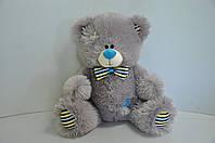 Мягкая игрушка  мишка  26 х 28 см серый, фото 1