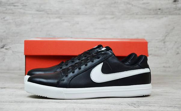 Мужские кожаные кеды Nike (Реплика) ►Размеры [43,45], фото 3