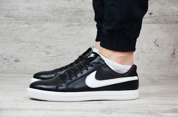 Мужские кожаные кеды Nike (Реплика) ►Размеры [43,45], фото 2