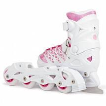 Детские раздвижные роликовые/ледовые коньки Tempish Clips Girl Duo 2в1, фото 2
