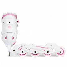 Детские раздвижные роликовые/ледовые коньки Tempish Clips Girl Duo 2в1, фото 3