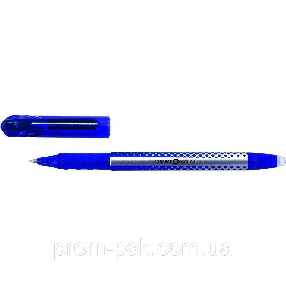 Ручка Optima  пише-стир. синя  15338-02