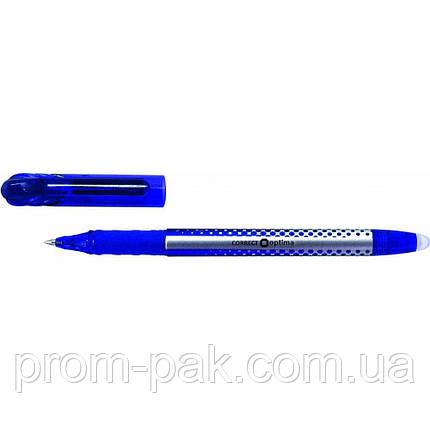 Ручка Optima  пише-стир. синя  15338-02, фото 2
