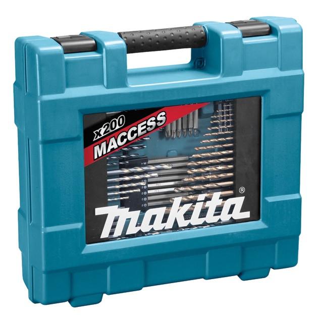Набор сверл и бит Makita 200 шт (D-37194)