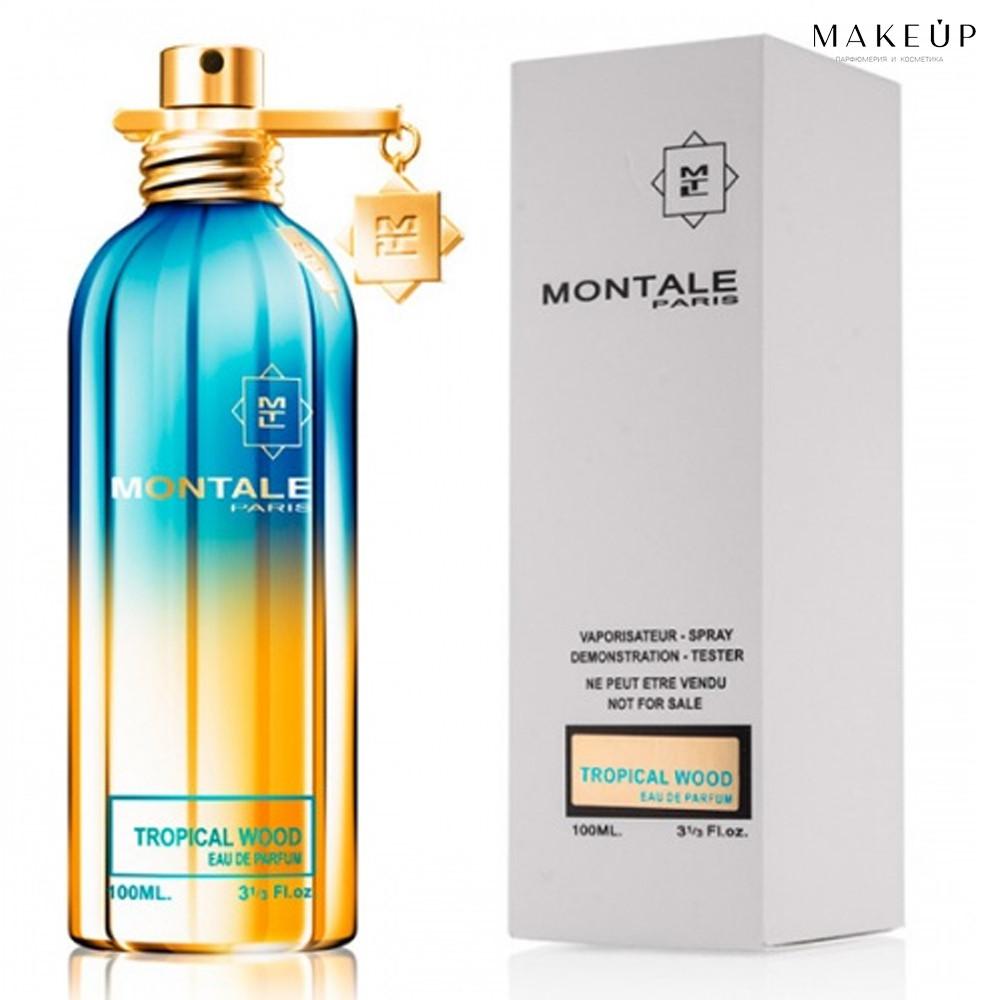 Tester женская парфюмированная вода Montale Tropical Wood edp 100 мл. | Лиц.  ОАЭ Тестер