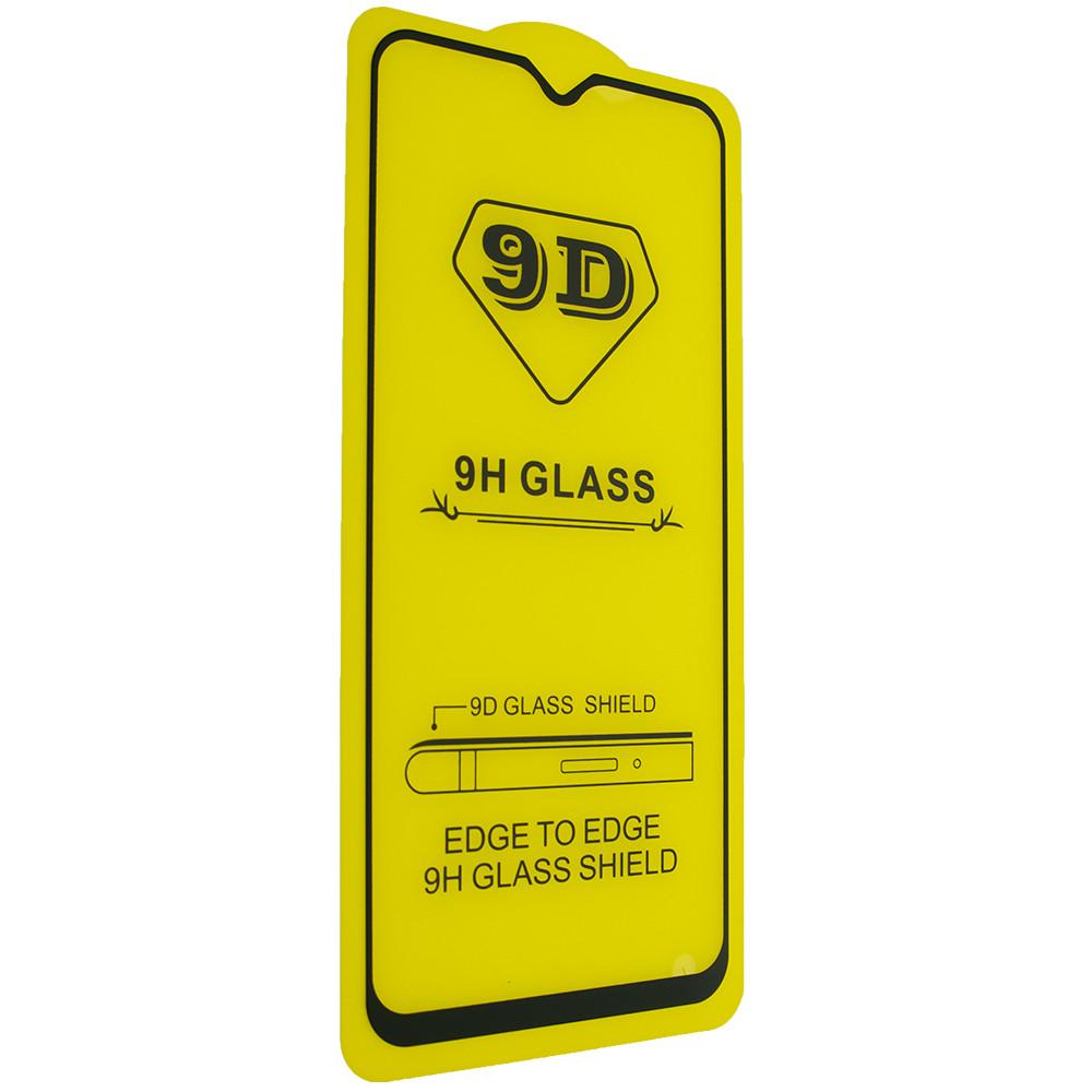 Защитное стекло 9D Samsung Galaxy A20/M20 2019 - черный