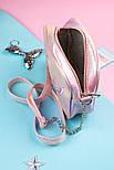 Сумочка детская женская (розовая), фото 3