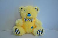 Мягкая игрушка  жёлтый мишка 35 х 40 см, фото 1