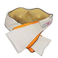 Роликовый массажер для спины и шеи Massager of Neck Kneading (6 кнопок)