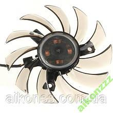 Кулер для видеокарт MSI GTX 460 580 R6870 R6950 твин Frozr II PLD08010S12HH 75 мм