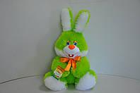 Мягкая игрушка.Заяц 44 х 32 зеленый, фото 1