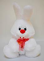Мягкая игрушка.Заяц 44 х 32 белый, фото 1