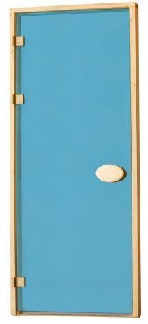 Двери для сауны Синие 80х210