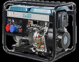 Генератор дизельный Konner&Sohnen KS 9100HDE-1/3 ATSR (7.5кВт, Euro 5), фото 2