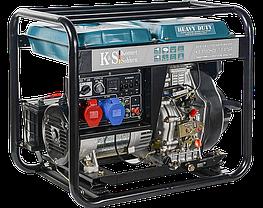 Генератор дизельный Konner&Sohnen KS 9100HDE-1/3 ATSR (7.5кВт, Euro 5), фото 3