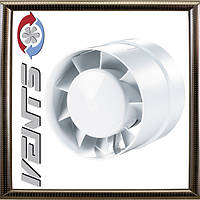 Вентилятор Вентс 100 ВКО Бытовой вытяжной вентилятор вентиляция санузлов, душевых Ø 100