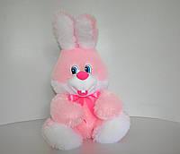 Мягкая игрушка Заяц  51 х 35 розовый, фото 1
