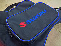 Чехол на лодочный мотор SUZUKI DT15  AS c отстегивающимся карманом- сумкой, фото 1