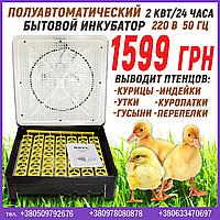Полуавтоматический инкубатор на 56 яиц, фото 1