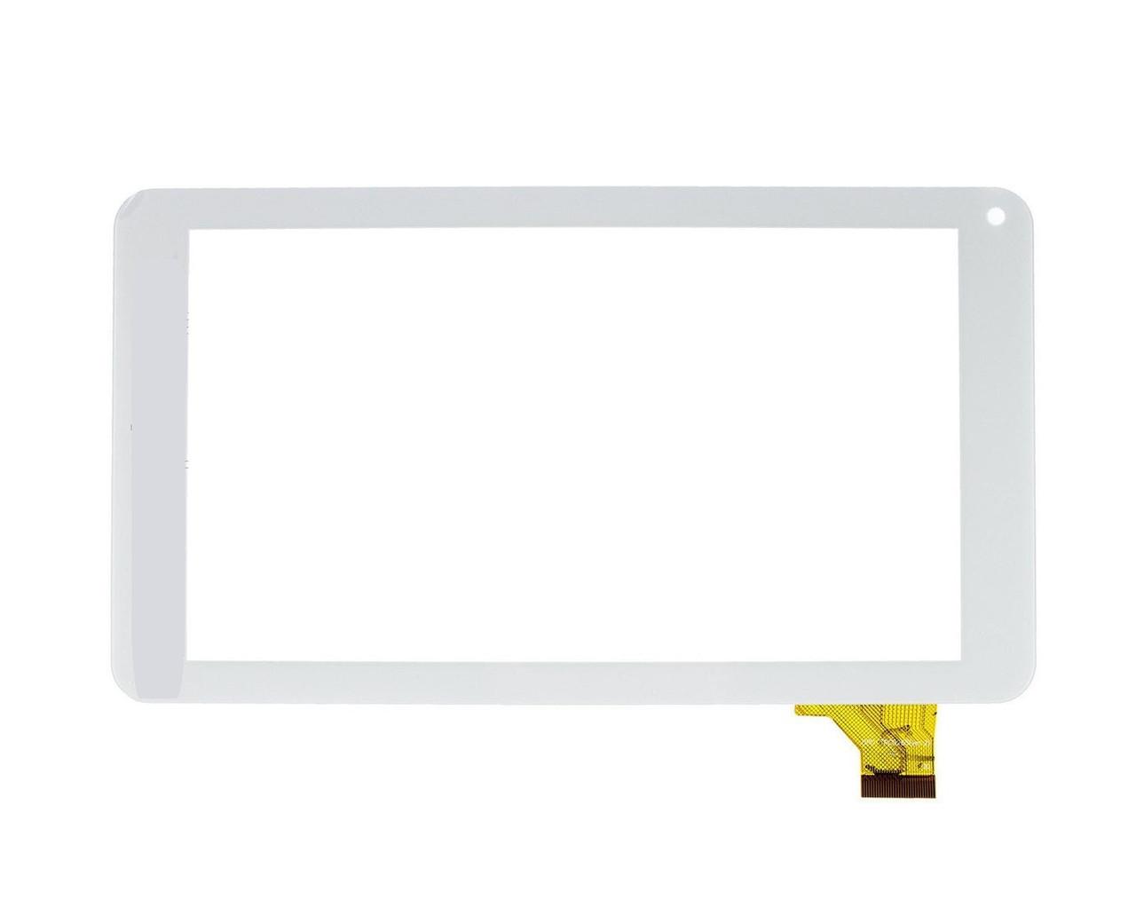 "Сенсор (Тачскрин) для планшета 7"" GoClever Insignia 700 Pro (186*104мм) 30pin (Белый)"