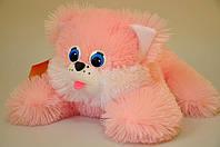 Мягкая игрушка .Котик 27 х 35 розовый