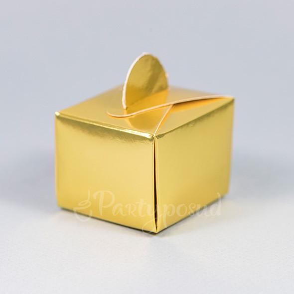 Бонбоньерка золотая