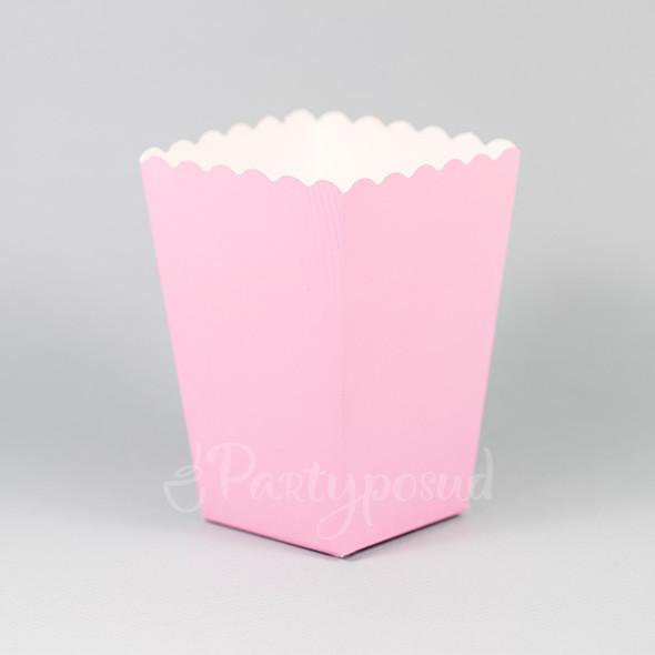 Форма бумажная розовая