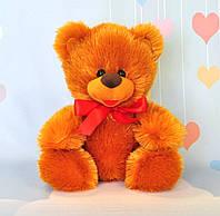 Мягкая игрушка медведь 24 х 22 см, медовый, фото 1