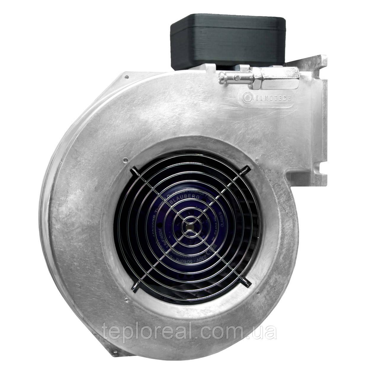 Нагнетательный вентилятор для котла на твердом топливе ELMOTECH VFS-120  280м3/ч