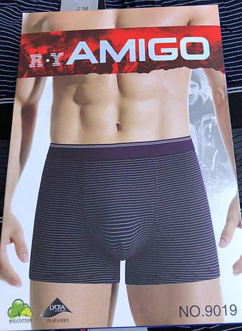 """Мужские боксеры ТМ """"Amigo"""" XL-4XL (от 6 уп., в 1 уп. - 2 шт.), фото 2"""