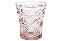 Набор стаканов 260 мл цвет- розовый 6 шт.