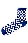 Носки Neseli Athletic Шахматы синие 2204, фото 3