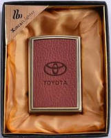 Toyota у Вас в кармане Стильная зажигалка ХА 15 Toyota Подарок на высшем уровне запальничка прикурювач