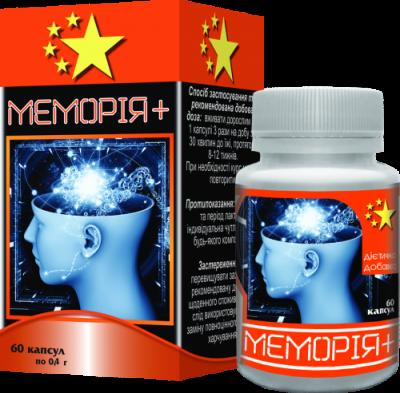 Мемория+, Нанофармация, 60 таб.
