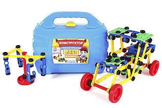 """Конструктор """"Технотронік Мега ТехноК"""" 3992 (8шт) в чемодані 27 х 22.5 х 8.5 см"""