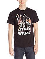 Мужская футболка размеры S M Star Wars Звездные Войны оригинал CША