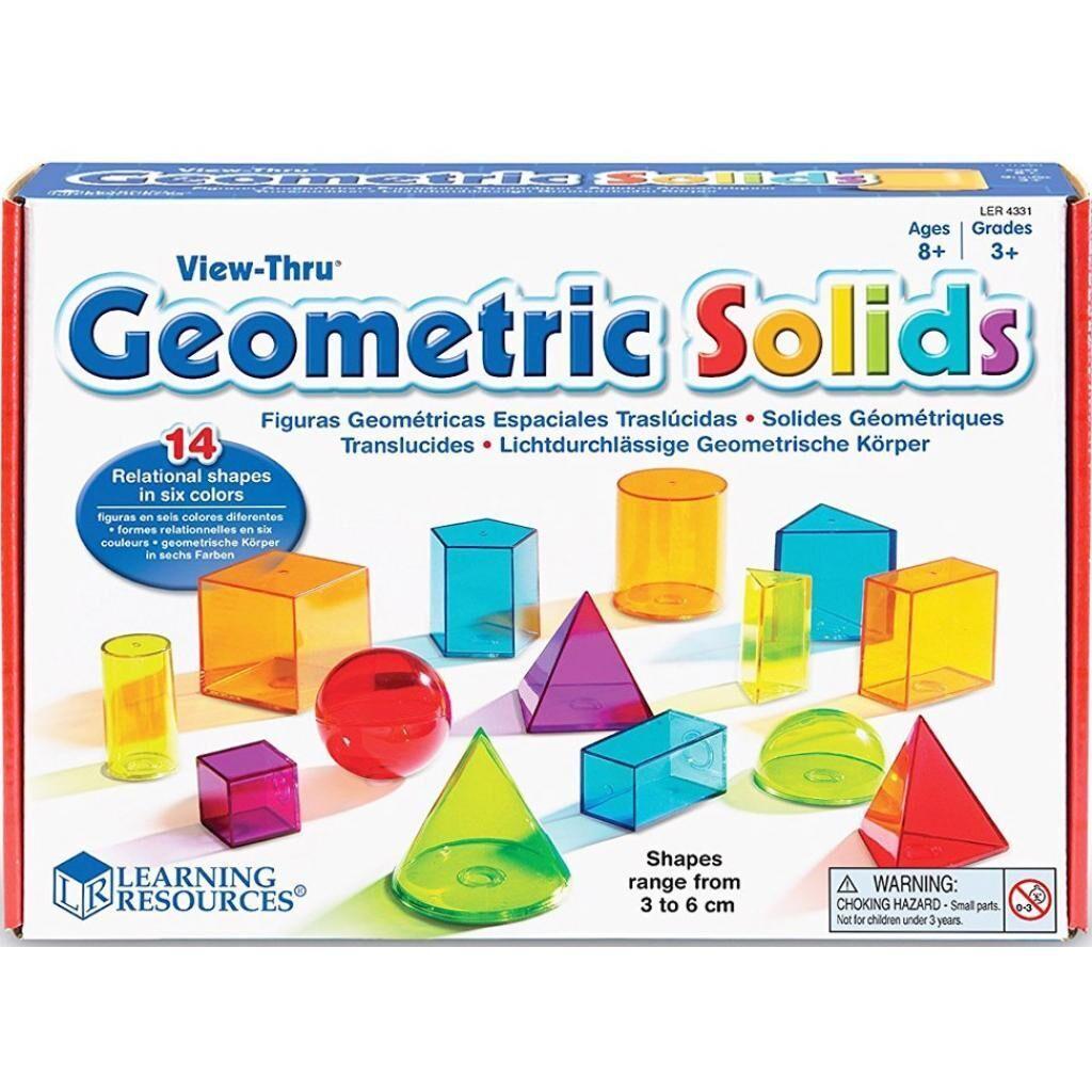 Развивающая игрушка Learning Resources 3D-геометрия (LER4331)